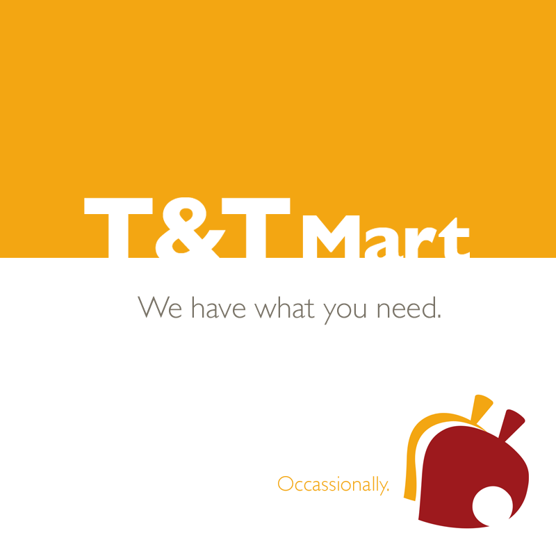 T&T Mart, Animal Crossing