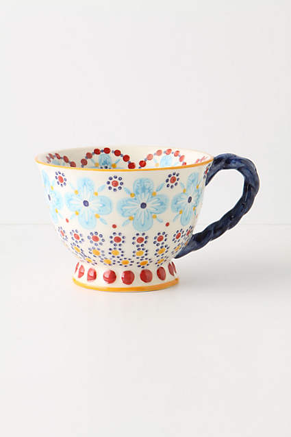 Anthropologie Tea Cup