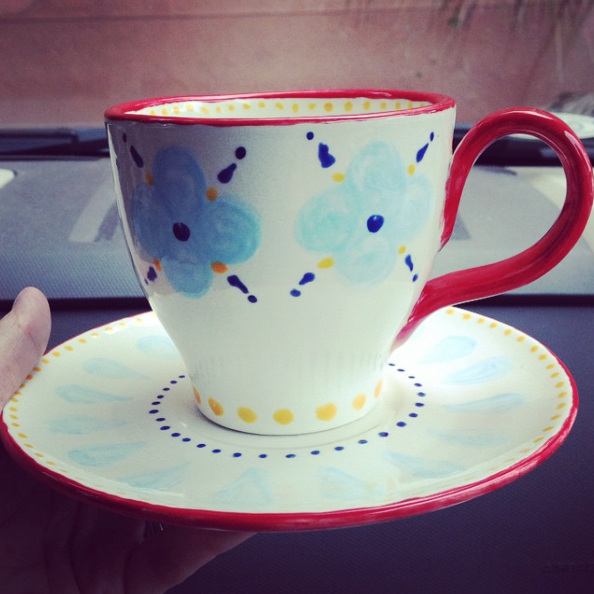Carly Williams Tea Cup
