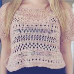Cancun Boxy Lace Top by Erin Kate Archer